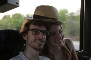 Mein Hut hat Philipp und mich in Amerika stets begleitet!