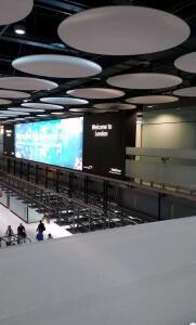 Die Ankunft am Flughafen