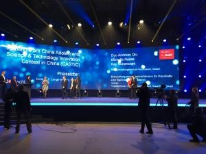 Sonderpreisverleihung Bundeswettbewerb Jugend forscht 2015 bei BASF in Ludwigshafen