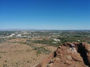 Aussicht vom Gipfel aus