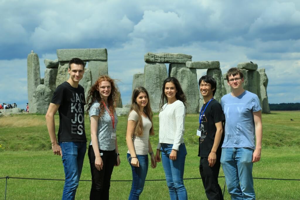 Stonehenge - Gruppenfoto