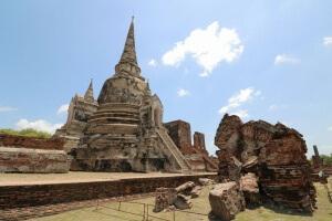 Wat Phra Si Sanphet in Ayutthaya
