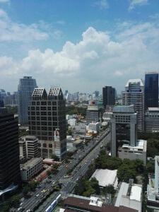 Ausblick vom Hotelzimmer über Bangkok