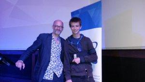 Foto mit Professor Miodownik