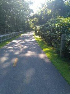 South County Bike Path Rhode Island