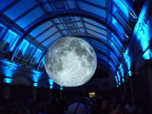 Mond im Natural History Museum